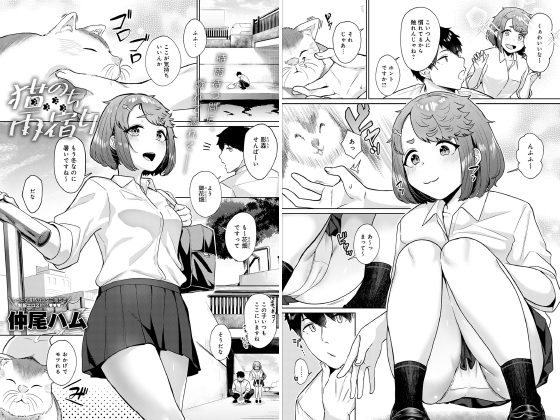 【エロ漫画】猫のち雨宿り【単話】 ほかのトップ画像